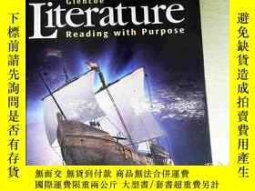 二手書博民逛書店Glencoe罕見Literature:Reading with Purpose, Course One, Stu