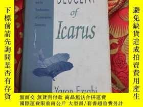 二手書博民逛書店【罕見】The Descent of Icarus【精裝 有印章