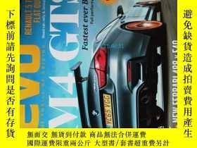 二手書博民逛書店EVO罕見The Thrill Of Driving Magazine原版汽車與運動跑車2016 06Y146