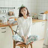 外出春夏季月子服純棉哺乳衣孕婦睡衣產后 LQ4619『miss洛羽』