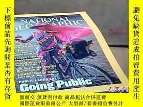 二手書博民逛書店NATIONAL罕見GEOGRAPHIC AUGUST 2001
