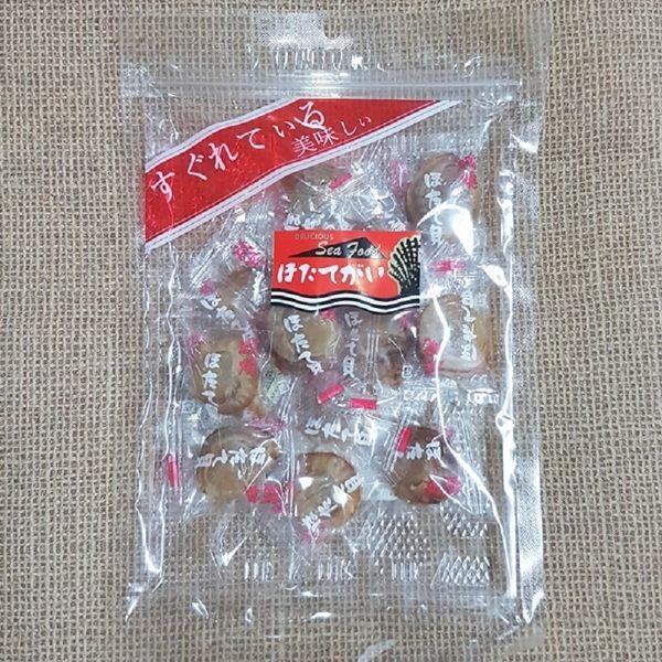 (日本)磯燒干貝糖-原味 (帆立貝干貝糖 北海道干貝糖 磯燒帆立貝干貝) 1包150公克【4978387034245】