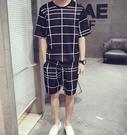 【JP.美日韓】 質感 大格子 套裝 男 彈性料質 保證好穿   簡約好穿 套裝