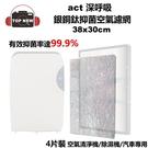 ACT深呼吸 銀銅鈦抑菌空氣濾網 AF-...