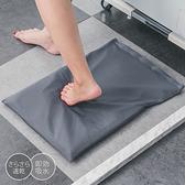 樂嫚妮 粉狀珪藻土軟地墊踏墊-54X36cm-深灰