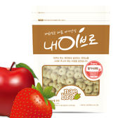 韓國 NAEBRO 草莓&蘋果圈圈點心40g(8個月以上適用) (韓國進口)寶寶餅乾/圈圈餅乾/米餅