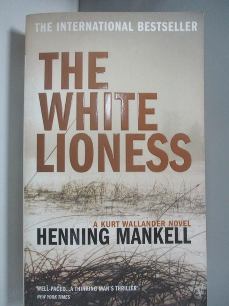 【書寶二手書T7/原文小說_AIB】The White Lioness_Henning Mankell