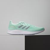 Adidas RUNFALCON 2.0 女 綠 輕量 緩震 慢跑鞋 FY9625