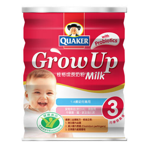 桂格成長奶粉-健康三益菌配方(1-4歲)1500g【全成藥妝】