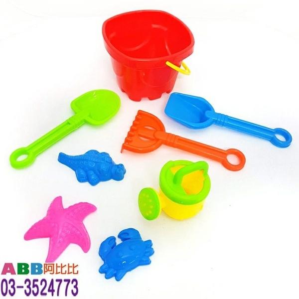A1344_沙灘玩具_玩沙組8件套#玩具水槍玩沙工具沙灘玩具游泳圈游泳棒海棉棒海綿棒