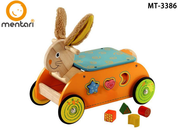 Mentari toys 兔兔益智滑步溜溜車