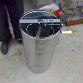 不銹鋼搖蜜機蜂蜜分離機甩蜜打糖加厚蜂蜜桶蜂蜜專用中蜂搖蜜機igo 享購