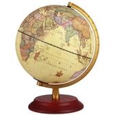 哪里25cm高清大號學生帶燈復古地球儀擺件歐式書房辦公室客廳裝飾
