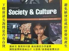 二手書博民逛書店Society罕見and Culture: Second Edi