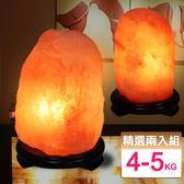 【鹽夢工場】玫瑰鹽燈兩入組(玫瑰4-5kgX2)