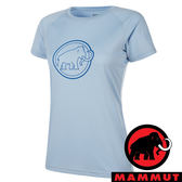 【MAMMUT 長毛象】女 QD AEGILITY 圓領短袖T恤『禪意藍』1017-10072 彈性伸縮 戶外 旅遊 輕便