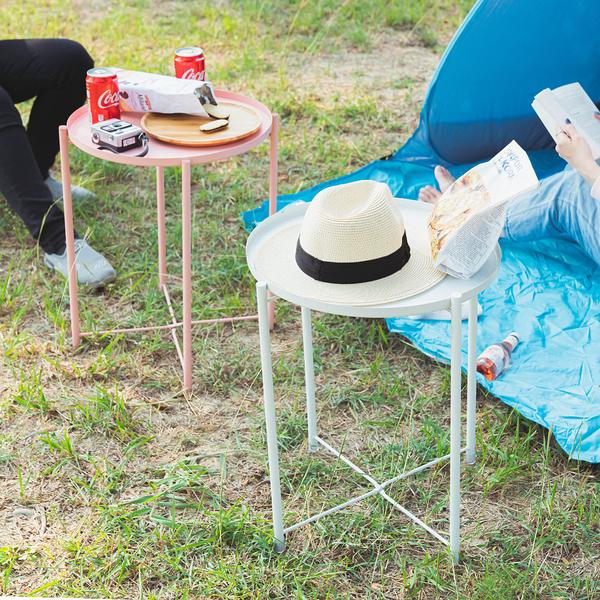 威瑪索 北歐質感托盤茶几桌 7色 圓桌 床邊桌 餐桌 咖啡桌