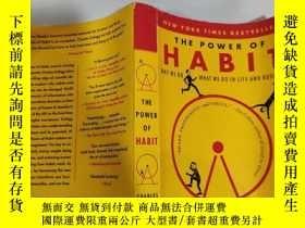二手書博民逛書店the罕見power of habit 習慣的力量Y200392