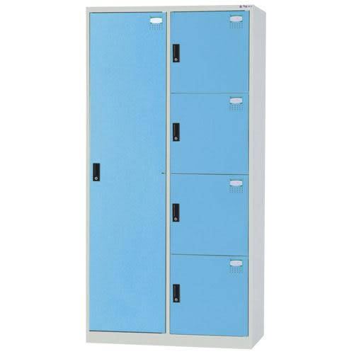 【時尚屋】HDF多用途3x6尺鋼製5格置物櫃(免組裝)(免運費)(台灣製)