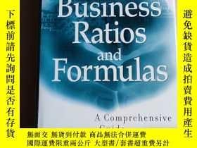 二手書博民逛書店Business罕見Ratios and formulasY26