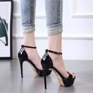 高跟鞋 夜店恨天高女鞋12cm/13公分超高跟涼鞋 細跟舞台演出鞋車模走秀鞋 降價兩天