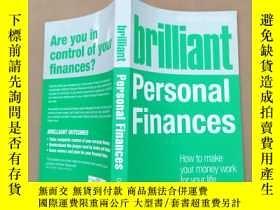 二手書博民逛書店brilliant罕見personal finances how