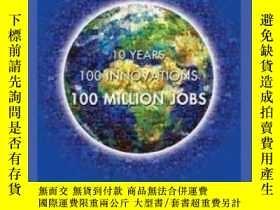 二手書博民逛書店Blue罕見Economy-10 Years, 100 Innovations, 100 Million Jobs