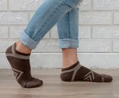 (男襪) 專業抗菌襪 抗菌除臭襪 吸濕排汗除臭襪  抗菌氣墊機能短襪-咖【M20002-08】Nacaco