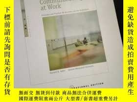 二手書博民逛書店Communicating罕見at Work: Principles and Practices for Busi