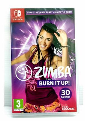 NS Zumba Burn It Up! 中英文合版 倫巴 尊巴 森巴 健身舞 拉丁有氧【現貨】