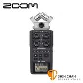 【缺貨】ZOOM H6 立體聲專業錄音座 二組收音麥克風 原廠一年半保固 公司貨【X/Y立體麥克風】