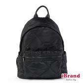 【iBrand】輕盈尼龍空氣包媽媽包後背包-黑色 TYH-T02-1-BK