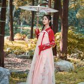 漢服女冬裝學生改良齊胸襦裙中國風公主古裝古風超仙錦鯉裙漢元素 艾尚旗艦