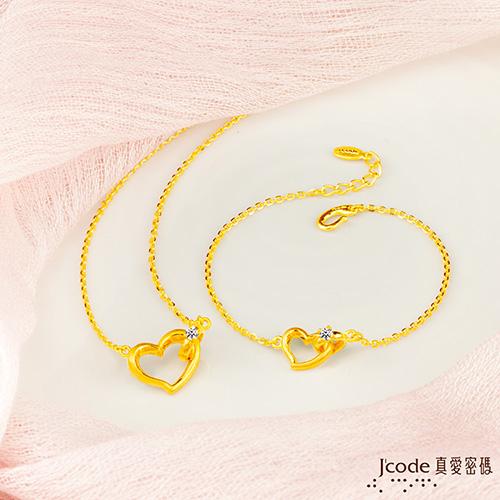 J'code真愛密碼 永遠的愛黃金女戒指