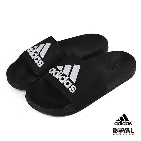 Adidas Adilette Shower 黑色 合成皮 拖鞋 男款NO.H2815【新竹皇家 F34770】