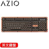 AZIO RETRO ARTISAN BT 藍牙真牛皮打字機鍵盤 Typelit機械軸 英文
