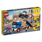 【LEGO 樂高積木】Creator創意大師系列-飛車特技秀 LT-31085