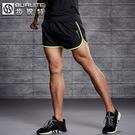 休閒短褲 運動短褲男跑步速干三分褲寬鬆夏季3馬拉鬆田徑健身訓練羽毛球褲