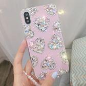 三星 Note9 A8Start A6+ J8 S9 Plus A8+2018 Note8 J6 J2 Pro 小水晶愛心鑽殼 手機殼 水鑽殼 訂製