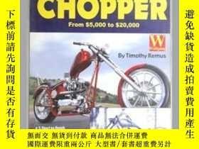 二手書博民逛書店how罕見to build a cheap chopperY13