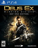 PS4 Deus Ex: Mankind Divided 駭客入侵:人類岐裂(美版代購)
