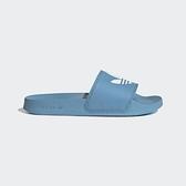 Adidas Adilette Lite W [FY6542] 女鞋 運動 休閒 拖鞋 涼鞋 經典 穿搭 愛迪達 藍 白