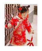 兒童宮廷髮夾古裝角色扮演格格頭飾復古中國風毛球髮飾流蘇表演飾品唐裝cosplay 88164