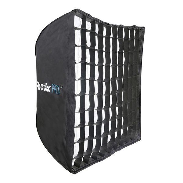 ◎相機專家◎ Phottix Pro 網格 易折疊 簡易 折傘式 柔光箱 無影罩 70x70cm 公司貨 82492