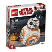LEGO 樂高 Star Wars VIII BB-8 75187 (1106 Piece)