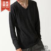 現貨V領針織毛衣 仿喀什米爾針織上衣 共20色  L-XL