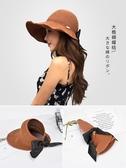 遮陽帽子女夏天防紫外線