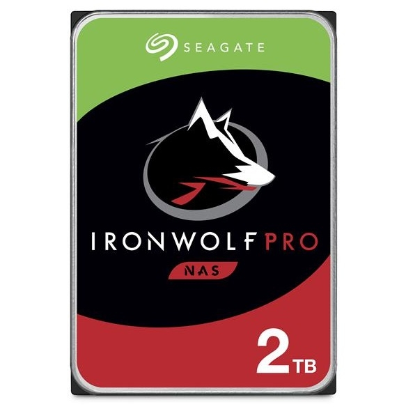 Seagate 希捷 那嘶狼 IronWolf Pro 2TB 3.5吋 NAS專用硬碟 (ST2000NE001)