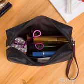 化妝包大容量收納包袋女隨身小號便攜簡約化妝品包 喵小姐