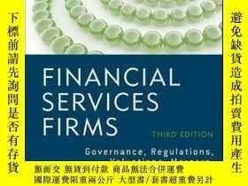 二手書博民逛書店Financial罕見Services Firms: Governance, Regulations, Valua